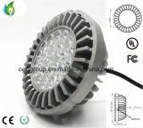 G53 기본적인 알루미늄 방열기 및 AC100-277V 90lm/W를 가진 20W/25W/30W/35W Osram LED 칩 AR111