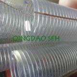 Tubo flessibile d'acciaio trasparente flessibile di aspirazione del PVC (3/4 )