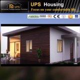 Casa prefabricada residencial permanente del jardín del edificio del bajo costo del aspecto agradable