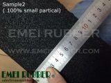 Баллистических резиновый напольный плитки для съемки диапазон