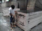 colagem impermeável do núcleo WBP do Poplar da madeira compensada de 18mm para construções