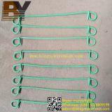 Гальванизируйте обожженный чернотой покрынный PVC двойной провод связи петли
