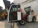 individu de 2.0m3 4X4 chargeant le camion diesel mobile de mélangeur concret