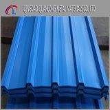 建築材料カラー上塗を施してある金属の屋根ふきシート