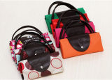 ترويجيّ [600د] بوليستر [شبّينغ] حقيبة [فولدبل] مع صنع وفقا لطلب الزّبون علامة تجاريّة