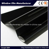 Пленка окна цвета 1ply 5% черная, солнечная пленка окна, солнечная пленка подкраской окна