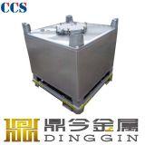 Container van de Tank van de Opslag IBC van het roestvrij staal de Draagbare