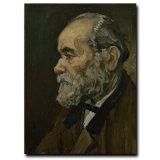 Couteau à palette moderne Hand-Painted Figure Wall Art Decor Portrait d'un vieil homme peinture huile sur toile
