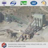 Sistema di trasportatore prefabbricato del blocco per grafici d'acciaio di alto aumento di Sinoacme