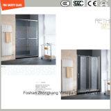 Fingerabdruck-saure Ätzung des 4-19mm Silkscreen-Print/No/bereiften,/Muster-Ebene/verbogen ausgeglichenes/Hartglas für Tür/Fenster-/Dusche-Tür im Hotel und im Haus