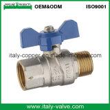 Válvula de esfera de gás forjada de bronze de qualidade superior personalizada (AV1060)