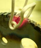 鋸歯の誘導加熱ろう付け機械を