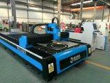 Cortadora grande del laser de la fibra del CNC de la hoja de metal de la potencia para el aluminio, acero, plateado de metal