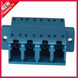 Adattatore ottico di plastica monomodale della fibra del quadrato di LC UPC