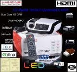 projetor do DLP do diodo emissor de luz do ósmio de 1080p 100Hz Android4.0 (C7)