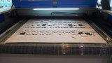 Corte de laser de tecido para couro de vestuário