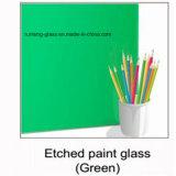 l'alta qualità di 12mm ha colorato il vetro indietro verniciato inciso acido