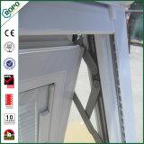 Profil de haute qualité upvc blanc double vitrage pour la maison de la fenêtre d'ébarbage