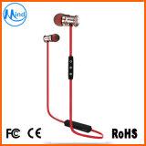 Annulation de bruit de la puce de la RSE Le Bluetooth stéréo métal écouteurs intra-auriculaires avec l'aimant