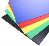 Strato all'ingrosso della plastica del PVC della scheda 1mm della gomma piuma del PVC di colore