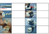 Keystone гигабита RJ45 CAT6 поднимает соединение домкратом модулей Инструмент-Свободно