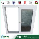 Finestra e portello di vetro scorrevoli orizzontali del cursore tinti Windows del PVC