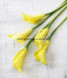 Künstliche Calla-Lilien-Masse-Blumenhochzeits-Blumen-Mittelstück-Ideen-Blumenstrauß für Hochzeitsfest-Dekor