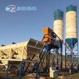 Impianto di miscelazione concreto del cemento di basso costo Hzs75 (4 tramogge)