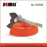 La potencia de vibración baja Cortador de cepillo con mango suave
