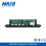 placa audio do decodificador do jogador de música do MP3 do altofalante do módulo de 5V 12V com o USB do cartão de FM TF