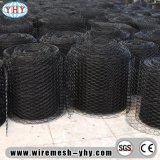 "1-1/2 "" rete metallica esagonale rivestita nera del PVC"