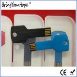 파란 색깔 키 모양 USB (XH-USB-054)