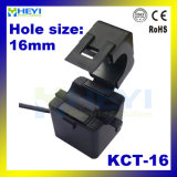 Trasformatore corrente Toroidal corrente 100A/33.3mA 100A/40mA 120A/40mA 200A/66.7mA 200A/333mv di memoria spaccata dell'uscita Kct-16 di monofase di alta esattezza