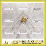 設計されるのためのCastro安く新しい磨かれた白い石造りの中国の大理石または台所か浴室または卸売