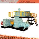 現代工場のための空の穴があいた多孔性のMultiholeの煉瓦作成機械