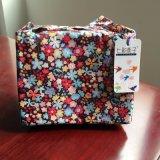 Le sac portatif neuf du déjeuner 2017 fleurit la qualité thermique isolée N563 d'emballage de pique-nique de refroidisseur de Bento de poche de cadre de mémoire