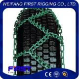 Corrente do Skidder do pneu do aço de liga da alta qualidade