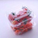 음식은 처분할 수 있는 포장 플라스틱 물집 수송용 포장 상자 고기 야채 열매를 맺는다