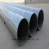 DIN/Sch40/Sch80 tubo de PVC de Abastecimento de Água