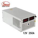 Smun S-3000-12 3000W 12VDC 250A justierbare Ausgabe-Schaltungs-Stromversorgung