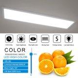 Irc 80 120lm/Watt panneau LED de lumière LED pour panneau Panneau de la lampe de plafond avec DLC 4.0 ETL TUV FCC 1X1FT/2X2FT/1X4FT/2X4FT