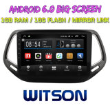 "Witson 10,2"" большой экран Android 6.0 DVD для Jeep Compass 2017"