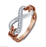 De levering voor doorverkoop glanst de Hete Verkoop Goed Pools 925 Zilveren van CZ Juwelen Feshion