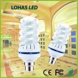 Lâmpada de milho de forma espiral completo 16W B22 Lâmpada LED