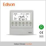 Drahtloser Zigbee Raum-Thermostat und Stellzylinder u. Ventil für Kühler
