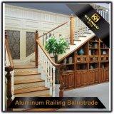 Balaustra di alluminio di lusso della scala