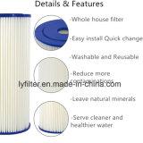Piezas de 1 del micrón de los PP del plisado del cartucho filtro de agua para la prefiltración