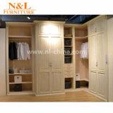 Guardaroba piegante di legno del tessuto della nuova di stile 2017 mobilia moderna della camera da letto