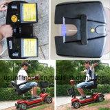 Preiswerter Vierradmobilitäts-Roller mit verlängertem Sitz für Ältestes