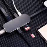USB 3.0 типа C ступицы к HDMI Gigabit Ethernet RJ45 USB 3.0 типа C Pd многопортовый зарядки адаптер для конвертера 2018 MacBook Pro